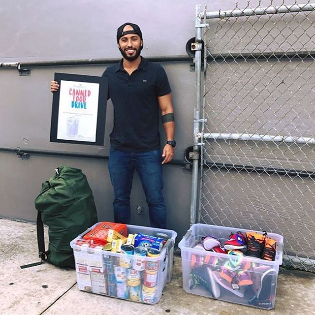 Miami's Military Resource Center and Club Give Back to Community