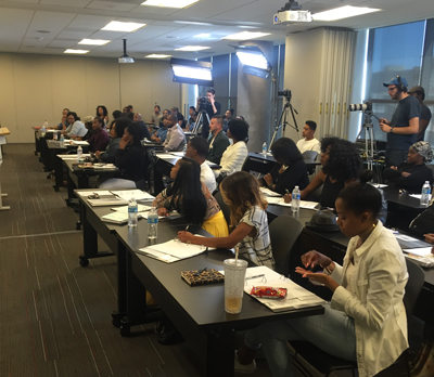 Entertainment Management Seminar with Sonja Norwood