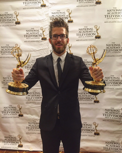 Pittsburgh Grad Wins Emmys for Work with NHL's Penguins