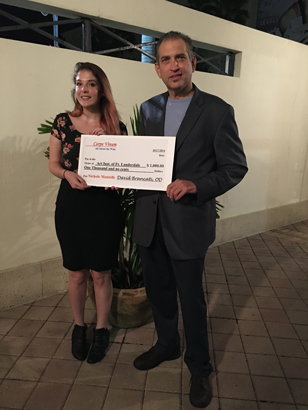 Fort Lauderdale Student Nichole Mantelle earns Carpe Vinum Scholarship Award