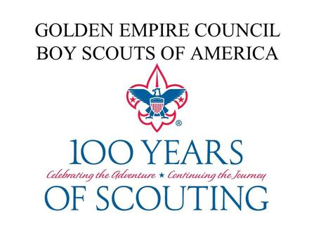 Golden Empire Council Boy Scouts of America