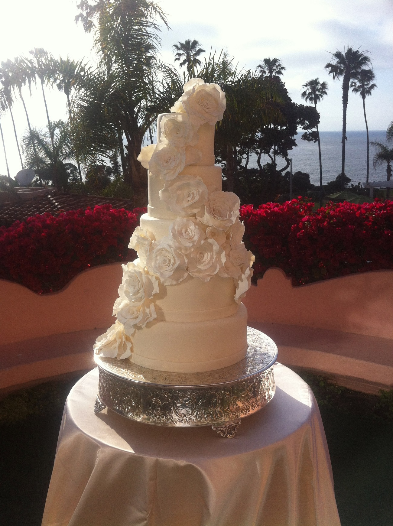 Woods Wedding Cake