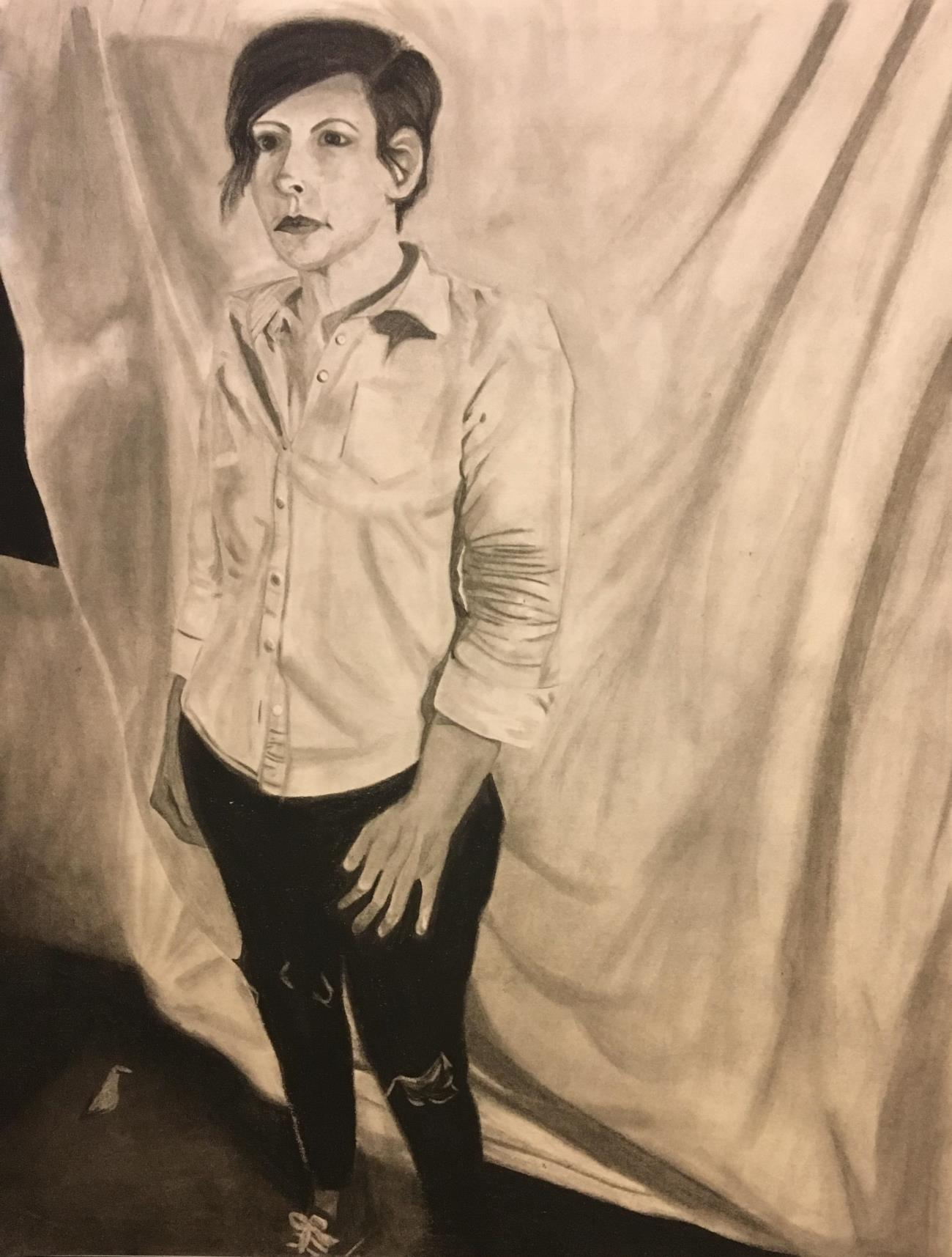 Stacy Fisher Drawing 1