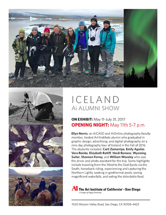 Iceland Gallery Opening