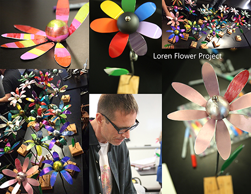 LorenFlower Project