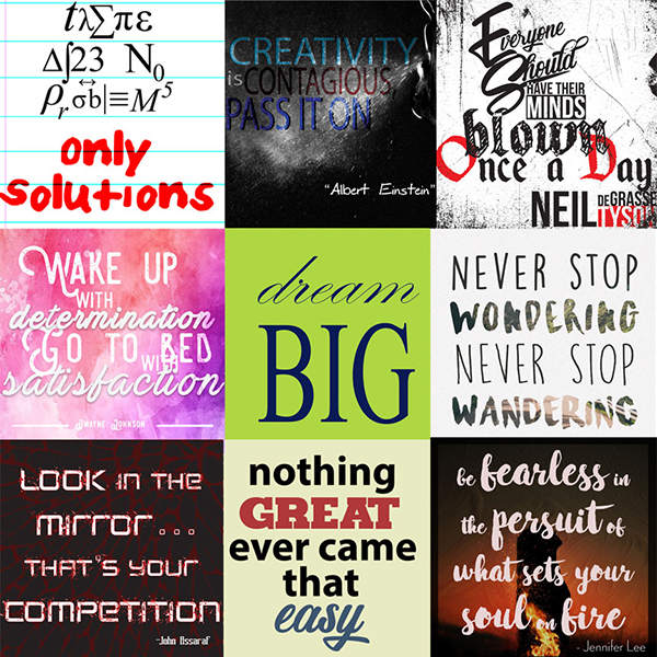 Motivational Monday Creations