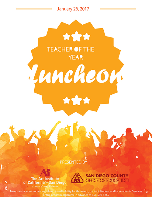 Teacher of the Year Luncheon
