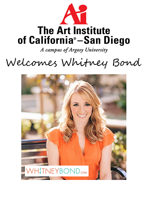 Whitney Bond Welcome Poster