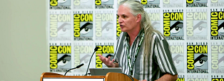 Pat Moriarty San Diego Comic Con header