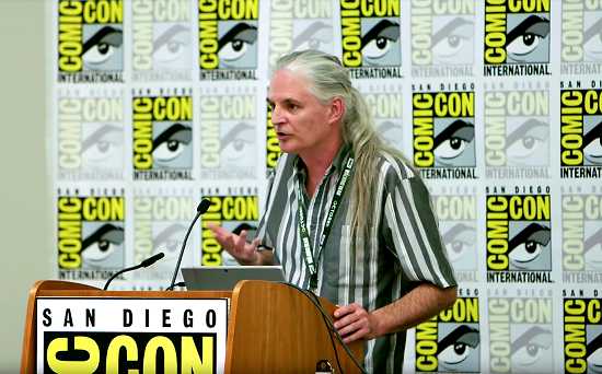 Pat Moriarty at San Diego Comic Con