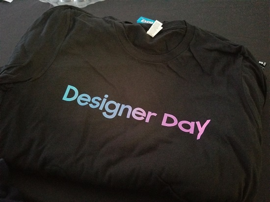 Samsung Designer Day shirts