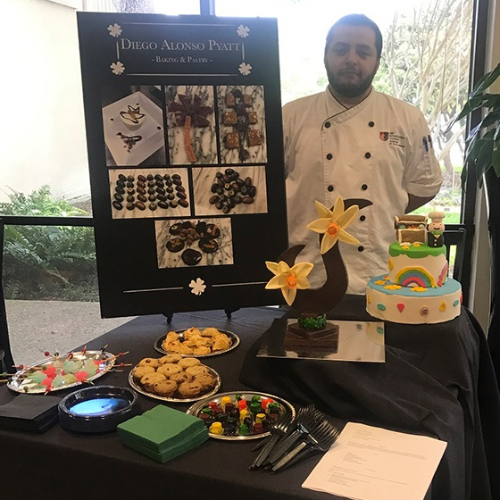 The Art Institute of San Antonio, a branch of The Art Institute of Houston, Baking & Pastry, Associate of Applied Science, 2016