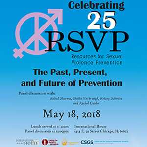 Chicago's Sharma and Yarbrough Serve on RSVP Panel