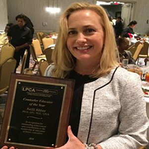 Atlanta's Kelli Ritter Receives Counselor Educator of the Year Award