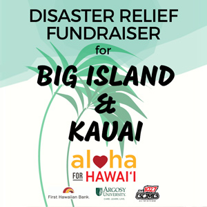 Hawaii Campus Holds Fundraiser to Help Lava and Flooding Victims