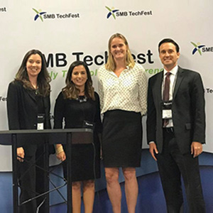 Carolyn Dillinger Moderates Panel at SMB TechFest