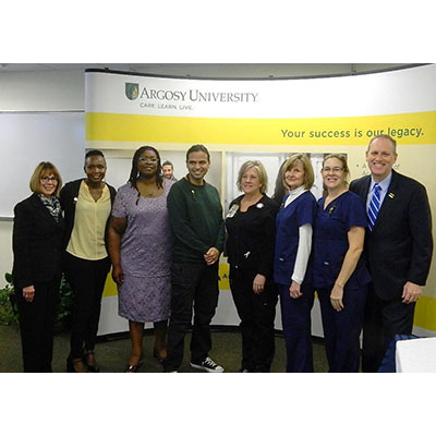 Argosy University, Dallas Celebrates Inaugural Pinning Ceremony for RN to BSN Students