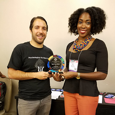 Chicago Student Luciano Lima Receives Award at APA Convention