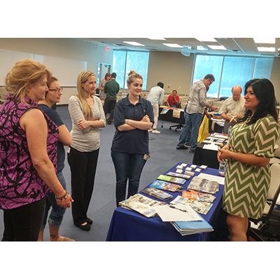 Argosy University, Online Division Holds Volunteer Fair