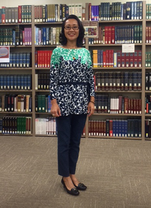 Recently Elected President of Chinese American Librarians Association