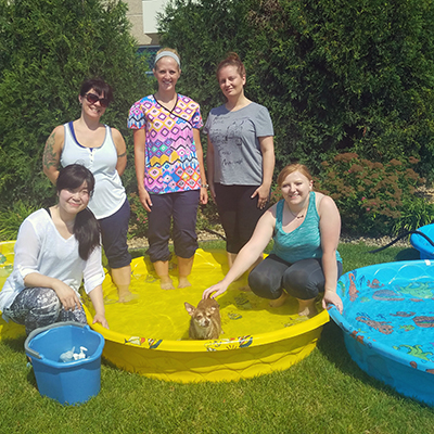 Argosy University, Twin Cities Holds CNAVTA's Annual Dog Wash