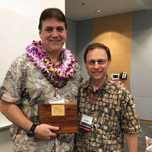 Hawaii Professor, Student Receive Awards at HPA Convention