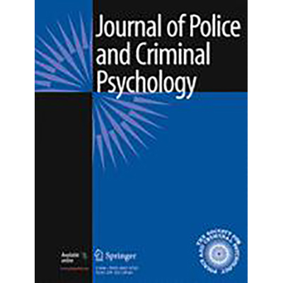 Graduate and faculty published in Journal of Police and Criminal Psychology