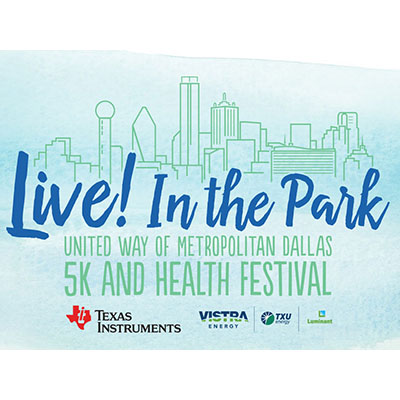 Join Argosy University Dallas for Live! In the Park 5K and Health Festival on Saturday, April 29