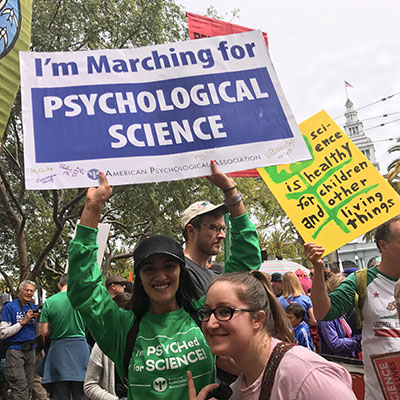 San Francisco Bay Area Team Marches for Science
