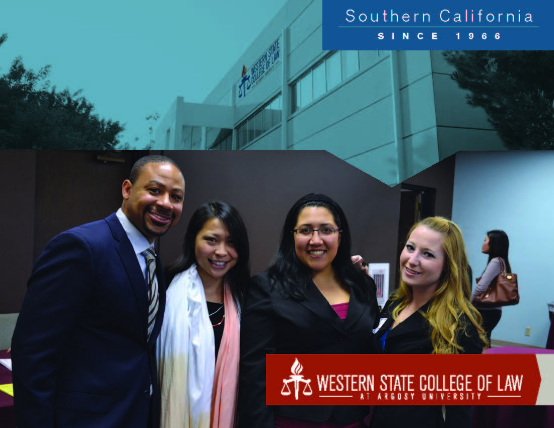 Admitted Students | Western State College of Law